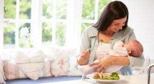 intuityvus valgymas mamoms